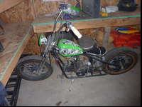 I traded a dirt bike for this Kikker. I started when I