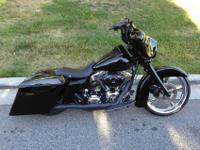 2008 HD Harley Davidson Street Glide FLHXCarl Brouhard