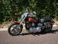 Clean and nice 2008 Dyna Low Rider with 7300 miles.