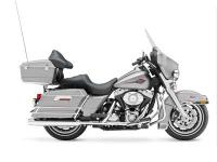 New comfort-stitched seat. 2008 Harley-Davidson Electra