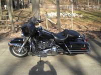2008 Black Harley Davidson FLHTPI Electra Glide. 103 CI