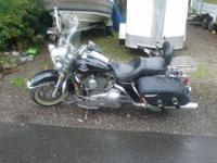 2008 Harley Davidson FLHRC Road King Classic. This