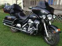 2008 Harley Davidson in Excellent Condition Black and