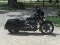 For Sale my 08 Street Glide. Blacked out. Less than