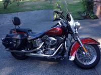 2008 Harley Davidson FLST Heritage Softail. Low miles