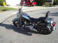 2007 Harley Davidson in Excellent Condition- - Blue