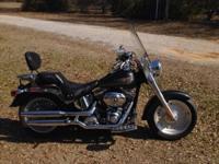 2008 Harley Davidson FLSTF Fat Boy . 5864 miles-