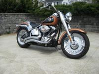 This Flawless 2008 Harley-Davidson Fatboy is #513 of