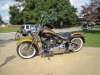 2008 Harley Davidson FLSTN Softail Deluxe EFI 6speed.