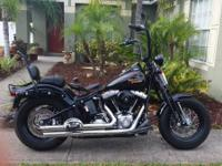 For sale 2008 hd harley davidson flstsb. I put 12.5 fat