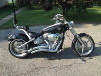 2008 Harley Davidson Rocker (FXCW) with 6800 miles. The