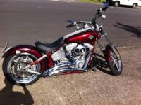 2008 Harley Davidson FXCW Rocker. This is a 2008 Harley