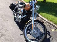 2008 Harley Davidson FXDWG Dyna Wide Glide Cruiser.