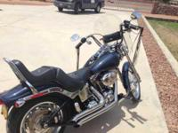 2008 Harley Davidson FXSTC Softail Custom. This Cruiser
