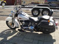 2008 Harley Davidson FLSTC Heritage Softail Classic.