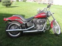 2008 Harley Davidson Night Train Custom Classic.