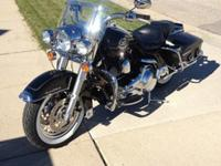 This is a like new HD Road King Classic. Bike has all