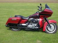 2008 Harley road glide. Removable passenger backrest. 4