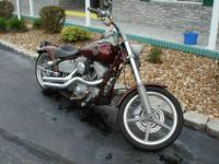 This 2008 Harley-Davidson Rocker is a real head turner