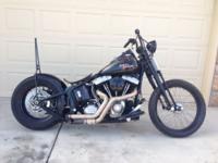 2008 Harley Davidson HD Cross Bones FLSTB Custom Bobber