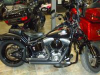 Bikes Softail 3619 PSN. A bike that comes down to the