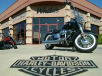 Live it Deluxe. 2008 Harley-Davidson Softail Deluxe