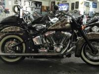 So we built the Softail Deluxe to take style in a whole