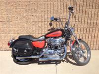 Chrome bullet headlamp and handlebar riser. For 2008