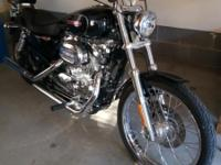2008 Sportster 1200 XL. Excellent condition. Black with