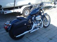 2008 H-D Sportster, Metallic blue and only 30 actual