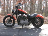 2008 Harley Davidson Sportster 1200 Nightster! The