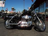 THIS IS A 2008 SPORTSTER XL 1200 CUSTOM WITH ONLY 16470