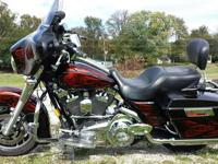 Beautiful 2008 Street Glide Stage 1 Air Breather True