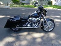 2008 Street Glide ... Chrome Screamin Eagle Wheels,