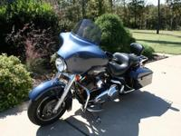 This is a 2008 Harley Davidson Street Glide in Dark