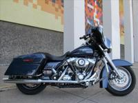 You are looking at a 2008 Harley-Davidson Street glide.