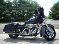 Bagger style, Harley Davidson cool! This StreetGlide is
