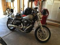 I have a 2008 Super Glide Harley Davidson for sale. It