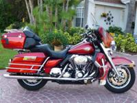 2008 HARLEY DAVIDSON FLHTCUI ULTRA CLASSICFULLY LOADED