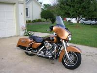 2008 Street Glide,105th Anniv Ed, Low Mi,