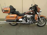 2008 Harley-Davidson Ultra Classic Electra Glide LOW