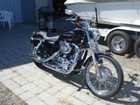 2008 H-D Sportster XL200C top of the line edition with