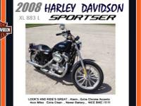 2008 Harley Davidson XL 883 L Almost Perfect Condition