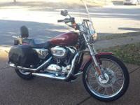 2008 Harley Davidson XL1200C Sportster Custom. 2008