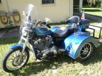 2008 Harley Davidson XL883C Trike . 2008 Harley