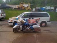 THIS BIKE WAS BUILT FOR PARADES AND FUNERALS FOR VETS,