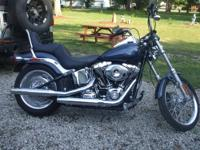 2008 HARLEY SOFT TAIL NEW BATTERY LOW MILES (3260) SIX