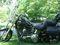 2008 Harley Soft Tail Custom with 14,717 miles and it's