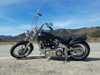 Beautifully built custom 2008 Harley. Quality built*