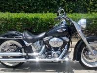 2008 HARLEY SOFTAIL DELUXE 96 CI HARLEY DAVIDSON FUEL